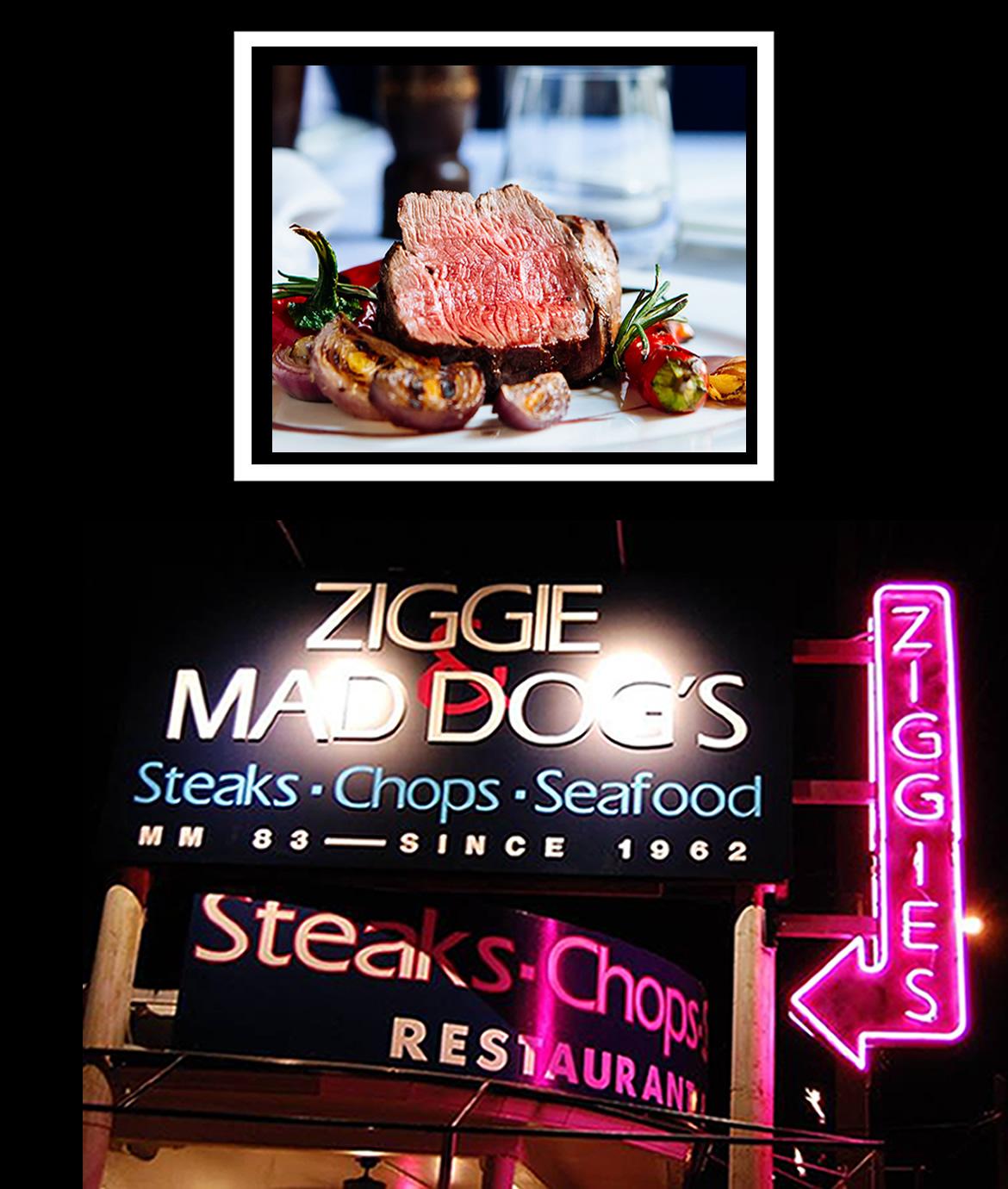 Ziggie & Mad Dog's - 5 Star Steaks In The Florida Keys