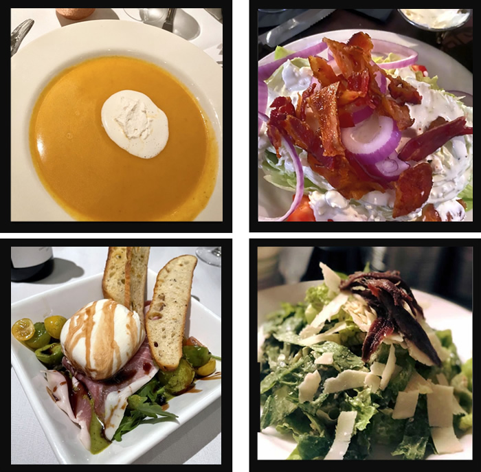 Soups and Salads At Ziggie & Mad Dogs